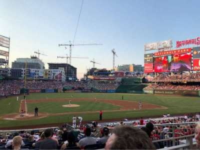 Nationals Park, section: 126, row: L, seat: 8
