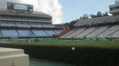 Kenan Memorial Stadium, section: 111, row: A, seat: 23
