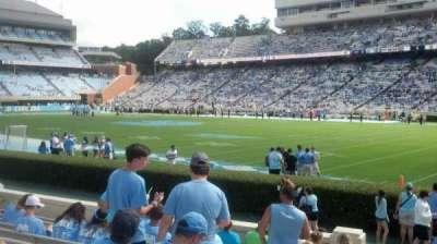 Kenan Memorial Stadium, section: 111, row: L, seat: 23