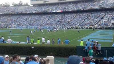 Kenan Memorial Stadium section 111