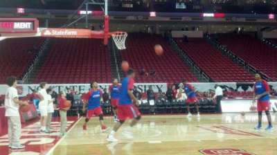 PNC Arena section Courtside