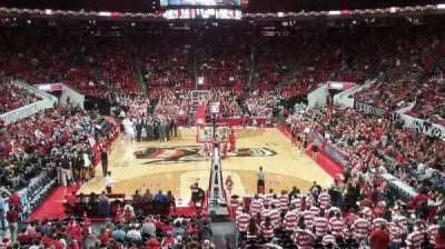 PNC Arena, section: 112, row: X, seat: 2