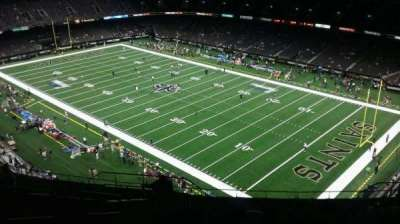 Mercedes-Benz Superdome section 607