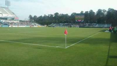 WakeMed Soccer Park, section: 407, row: 1, seat: 5
