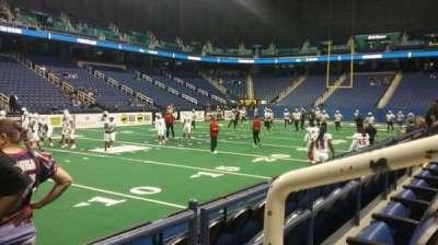 Greensboro Coliseum, section: 106, row: BB, seat: 11