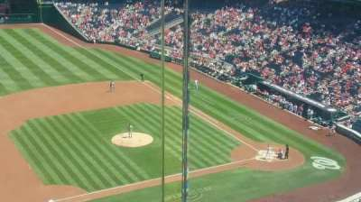 Nationals Park, section: 406, row: A, seat: 1