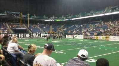 Greensboro Coliseum, section: 111, row: BB, seat: 8