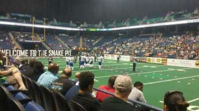 Greensboro Coliseum section 111