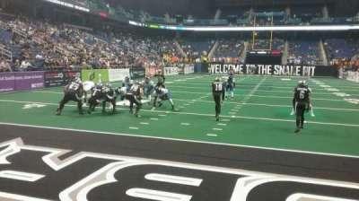 Greensboro Coliseum section 117