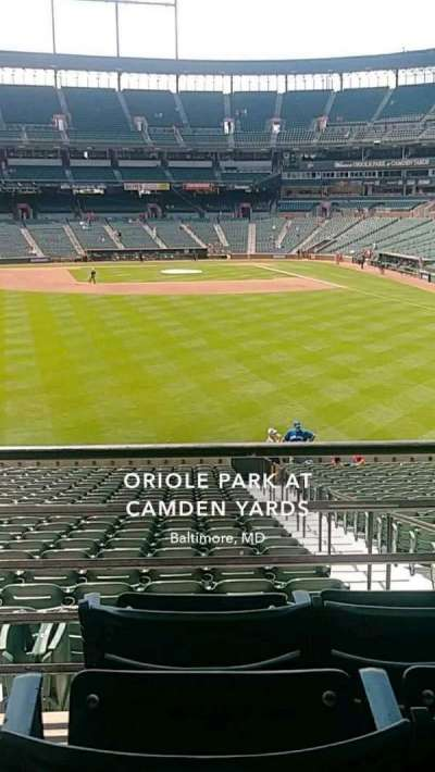 Oriole Park at Camden Yards section 83