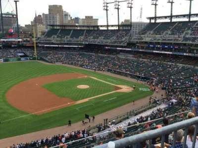 Comerica Park, section: 337, row: DAC, seat: 7