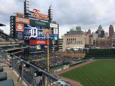 Comerica Park, section: 337, row: DAC, seat: 8