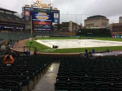 Comerica Park, section: 125, row: 27, seat: 15