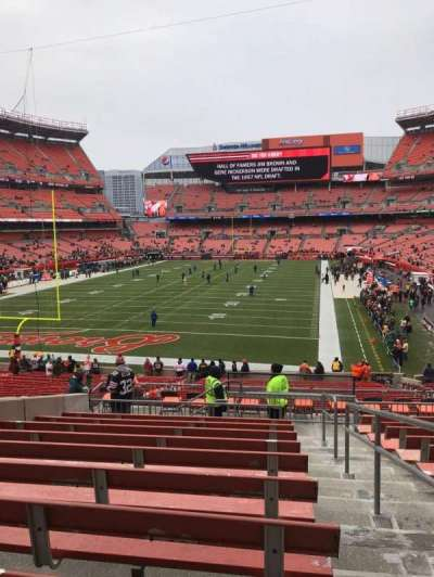 FirstEnergy Stadium, section: 121b, row: 32, seat: 16