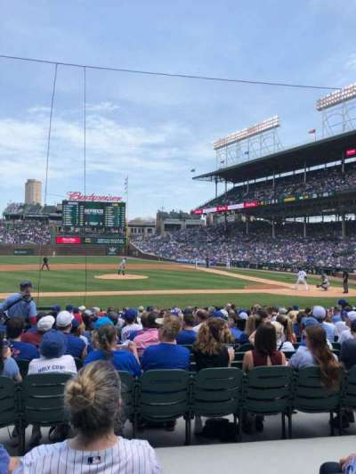 Wrigley Field, section: 115, row: 4, seat: 9