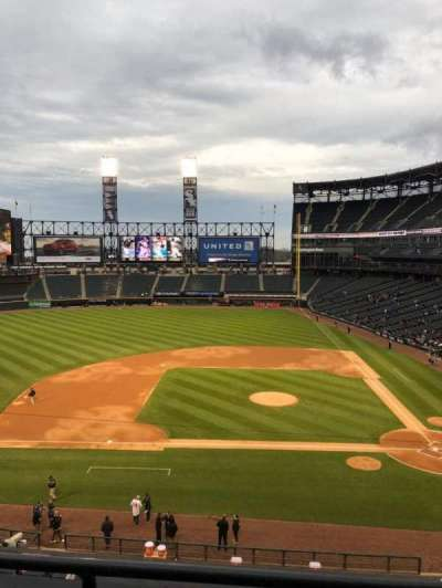 Guaranteed Rate Field, section: 338, row: 2, seat: 5