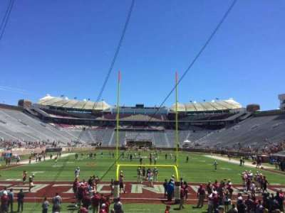 Bobby Bowden Field at Doak Campbell Stadium, section: 1, row: 15, seat: 1