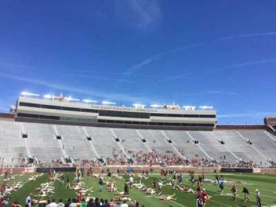 Bobby Bowden Field at Doak Campbell Stadium, section: 26, row: 12, seat: 14