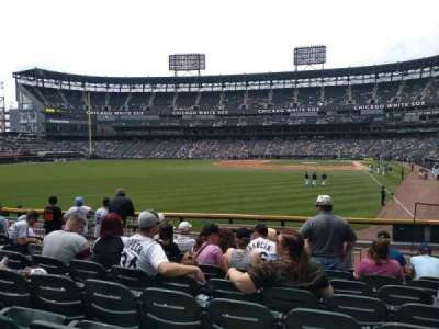 Guaranteed Rate Field section 157