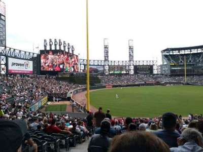 Guaranteed Rate Field section 153