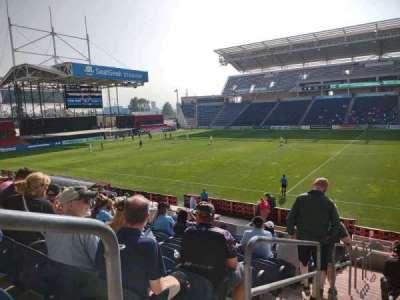 SeatGeek Stadium, section: 127, row: 17, seat: 21