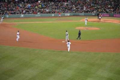 Fenway Park section Green Monster 10