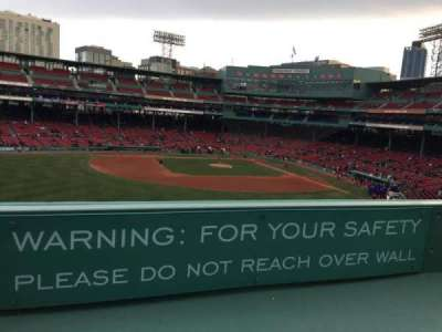 Fenway Park section Green Monster 7