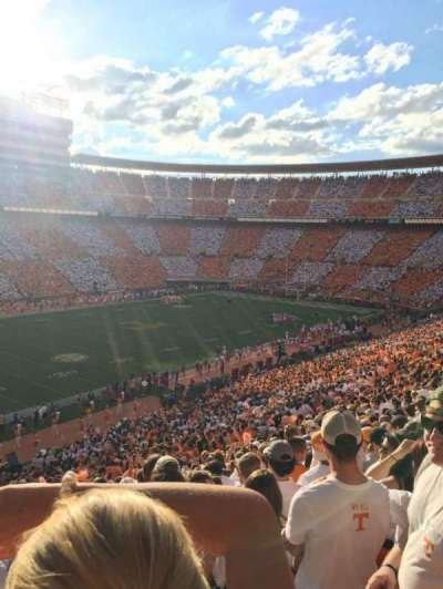 Neyland Stadium, section: H, row: 62