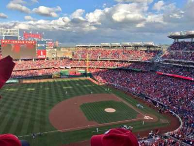 Nationals Park, section: 406, row: B