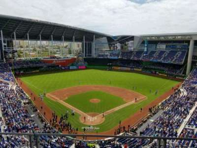 Marlins Park, section: 314, row: B, seat: 11