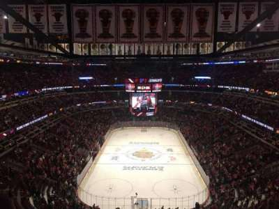 United Center, section: 326, row: 12, seat: 7