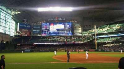 Minute Maid Park, section: 111, row: 10, seat: 8