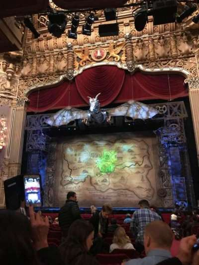 Oriental Theatre, section: Orchestra C, row: T, seat: 116
