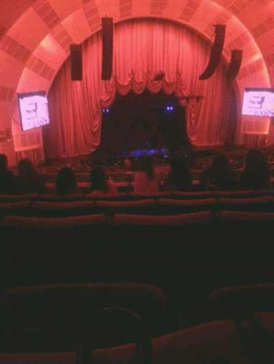 Radio City Music Hall, section: 2nd mezzanine 6, row: E, seat: 606
