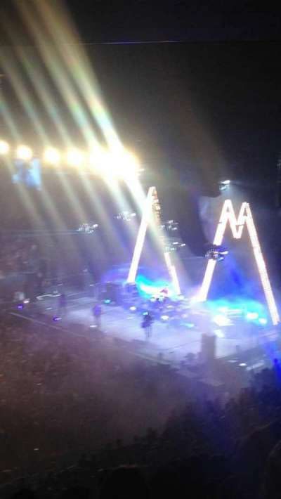 Madison Square Garden, section: 210, row: 14, seat: 1