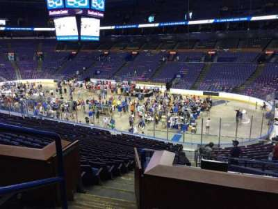 Scottrade Center, section: 113C, row: DD, seat: 24