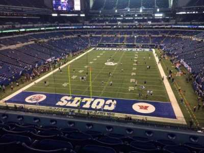 Lucas Oil Stadium section 452