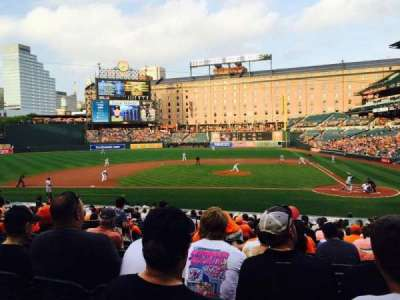 Oriole Park at Camden Yards, section: 48, row: 20, seat: 5