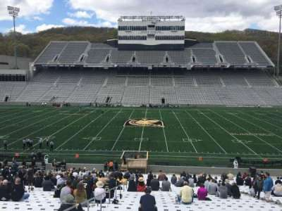Michie Stadium, section: 28, row: KK, seat: 27