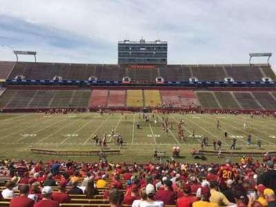 Jack Trice Stadium, section: 33, row: 37, seat: 17