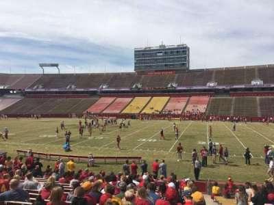 Jack Trice Stadium, section: 36, row: 19, seat: 19