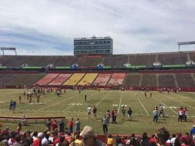 Jack Trice Stadium, section: 37, row: 17, seat: 1