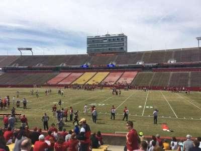 Jack Trice Stadium, section: 38, row: 17, seat: 1