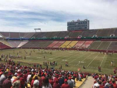 Jack Trice Stadium, section: 39, row: 41, seat: 1