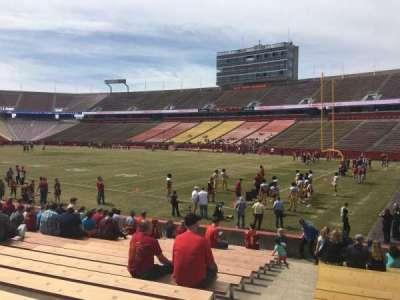 Jack Trice Stadium, section: 41, row: 17, seat: 1