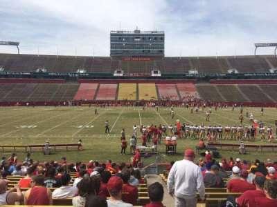 Jack Trice Stadium, section: 33, row: 20, seat: 19
