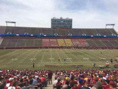 Jack Trice Stadium, section: 32, row: 37, seat: 1