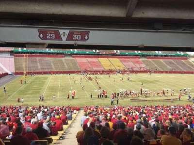 Jack Trice Stadium, section: 30, row: 47, seat: 1