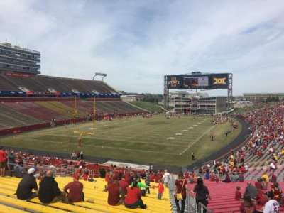 Jack Trice Stadium, section: 23, row: 39, seat: 27