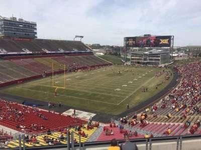 Jack Trice Stadium, section: P, row: 8, seat: 1